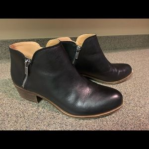 Lucky Brand Burklee Booties Black 9m